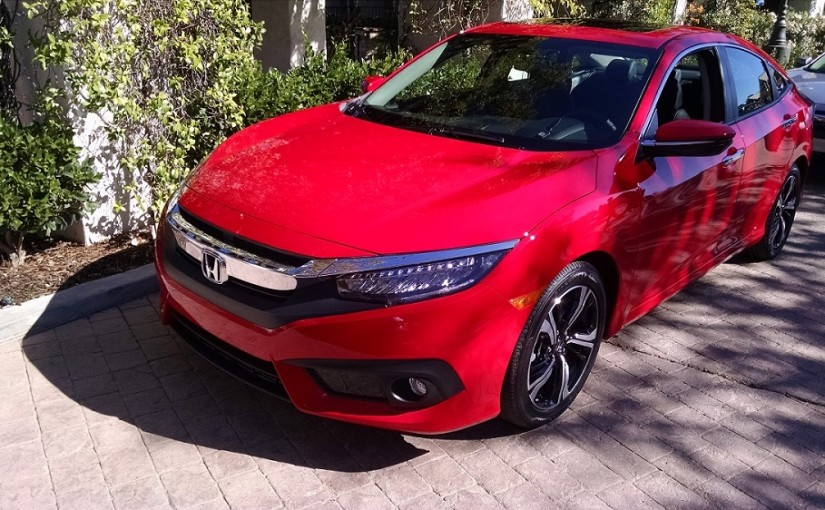 2016 Honda Civic continues to elevate brand sales