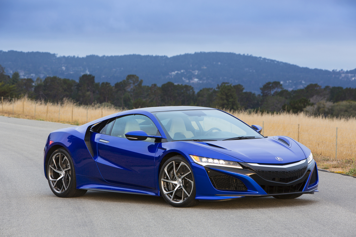 2017 Acura NSX Supercar VIN#001 to be auctioned for charity ...