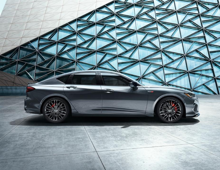 Reveal 2021 Acura TLX Type S